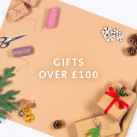 Shop Christmas gifts over £100