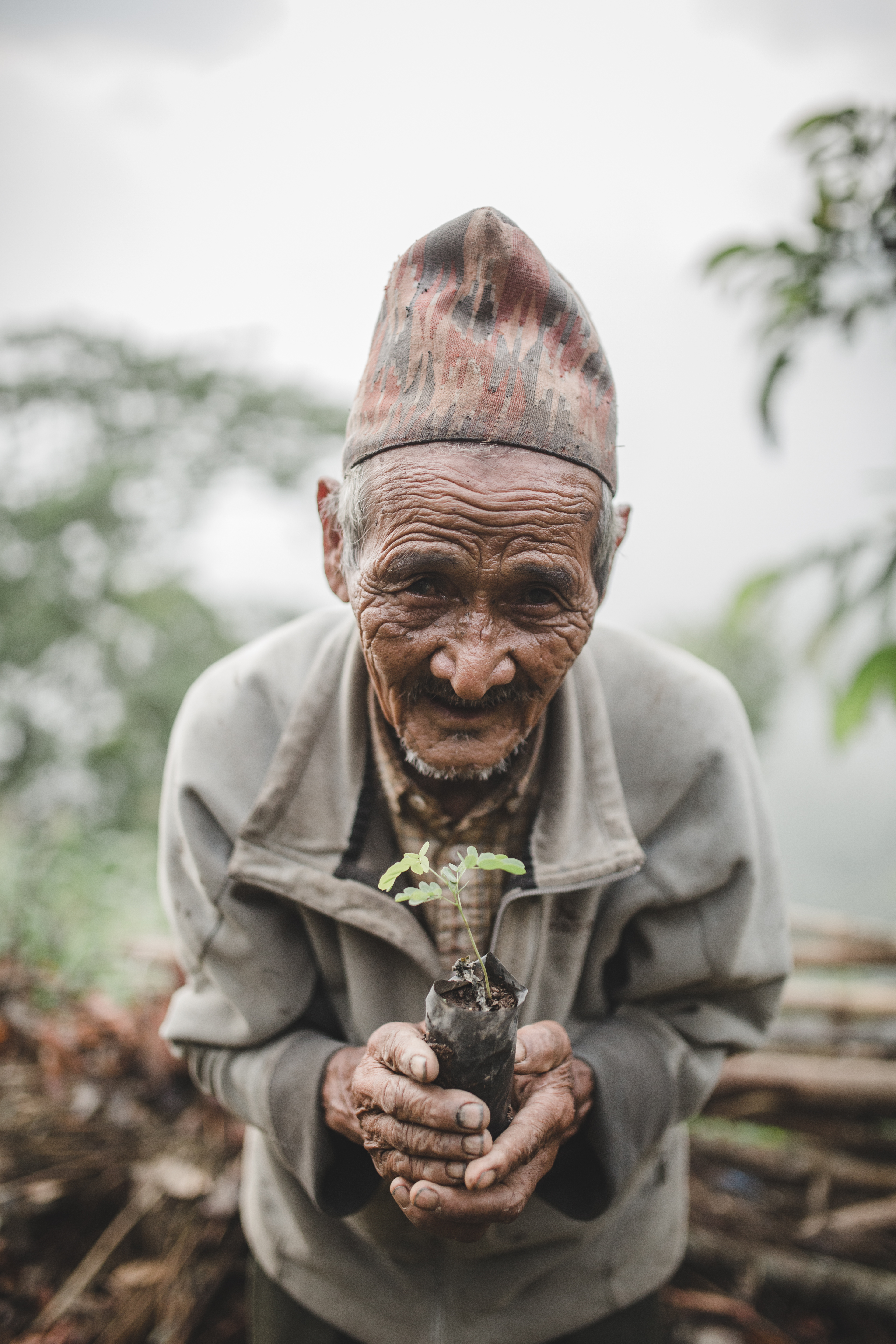 Nepalese tree planter