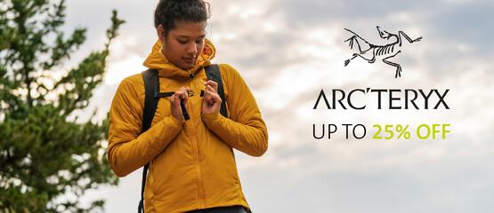 Shop the Arc'teryx sale