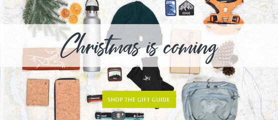 Shop our Christmas gift guide for everything you need for the adventurer