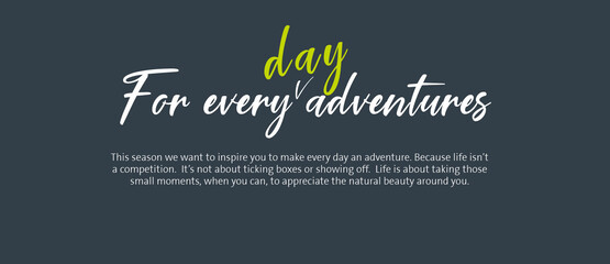Find out how to go on your own every day adventure with the Epicentre