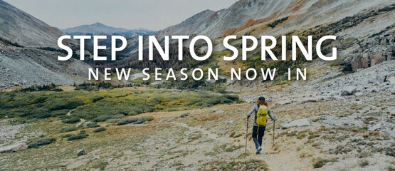 Shop our new spring season outdoor range for men and women