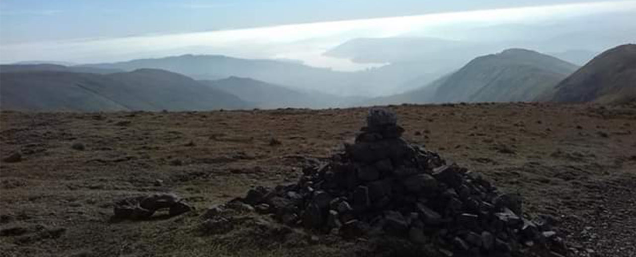 Follow our route on the Fairfield Horseshoe in Ambleside, Lake District