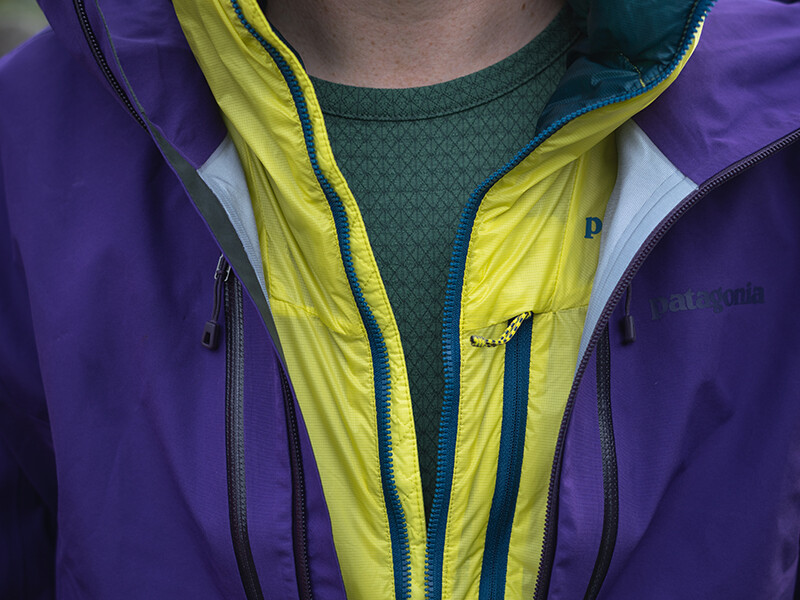 Image showing base, mid and out layering for winter walking