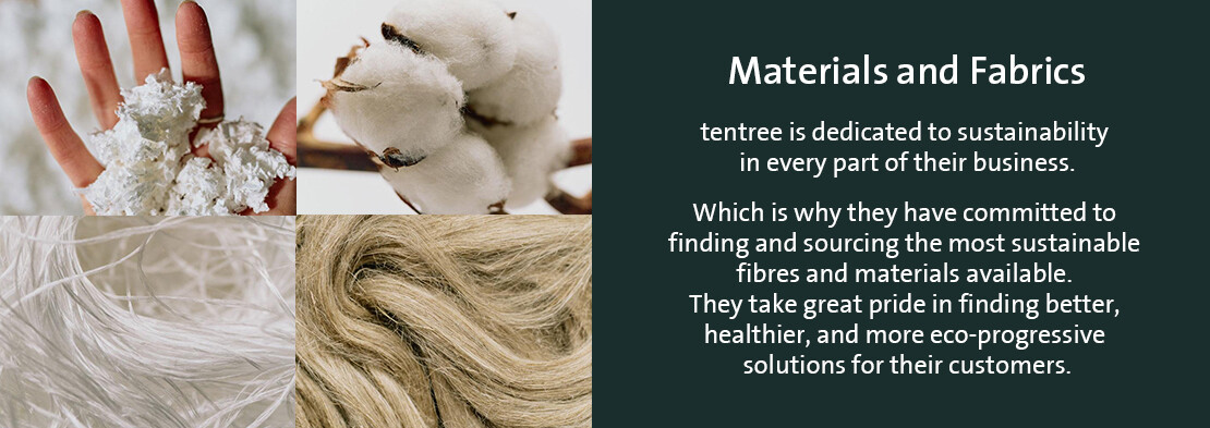 Natural and sustainable fabrics and materials
