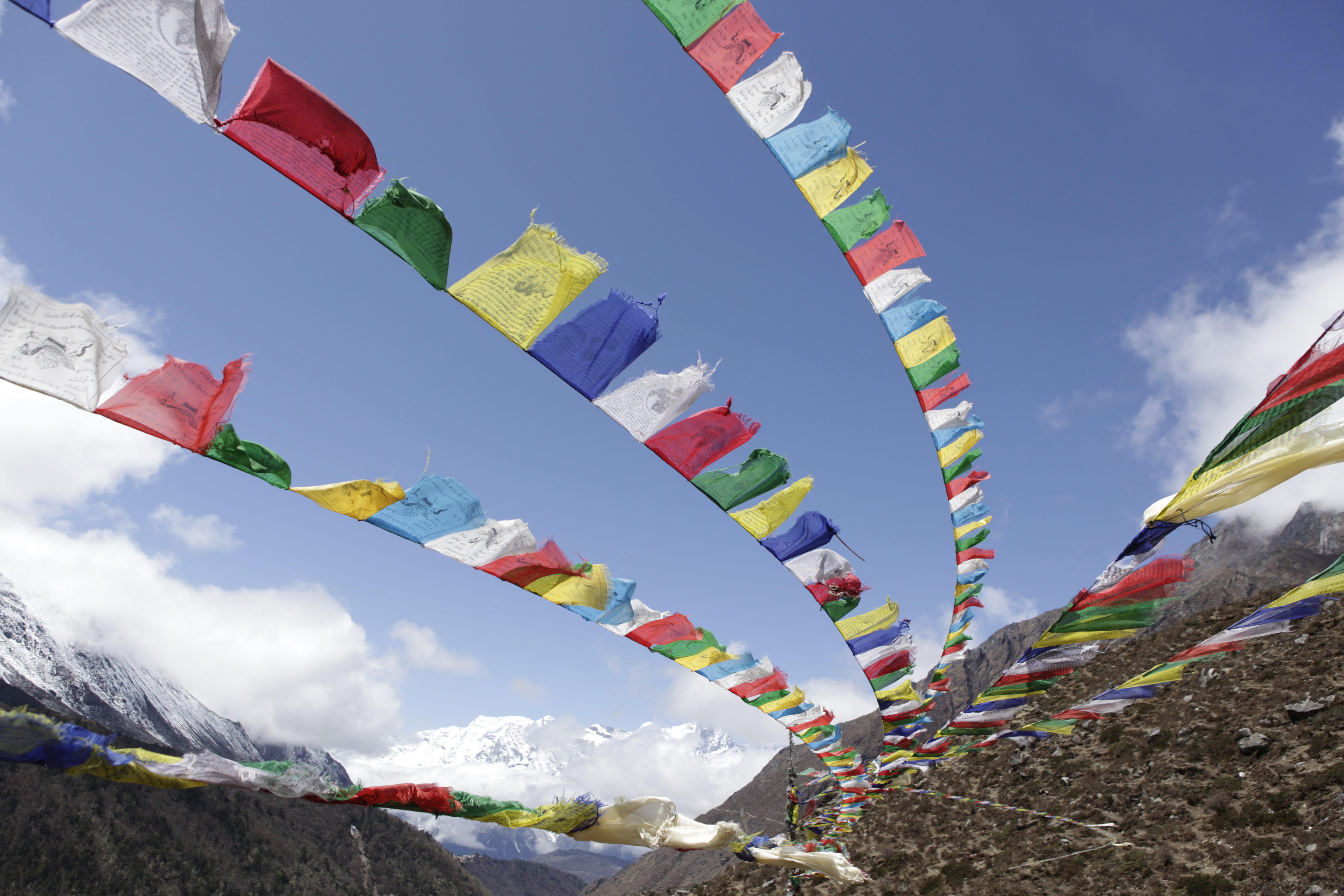 Sherpa Prayer flags