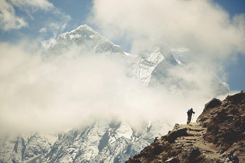 Keen hiking