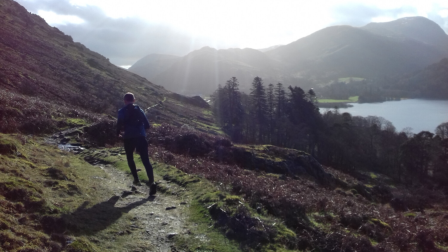 Trail running on the fells.  Guide to trail running