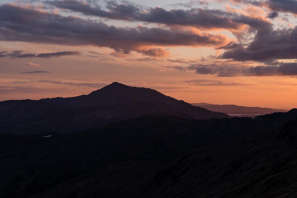 Beinn Resipol sunset