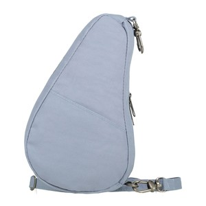 Healthy Back Bag Textured Nylon Baglett in Stonewash