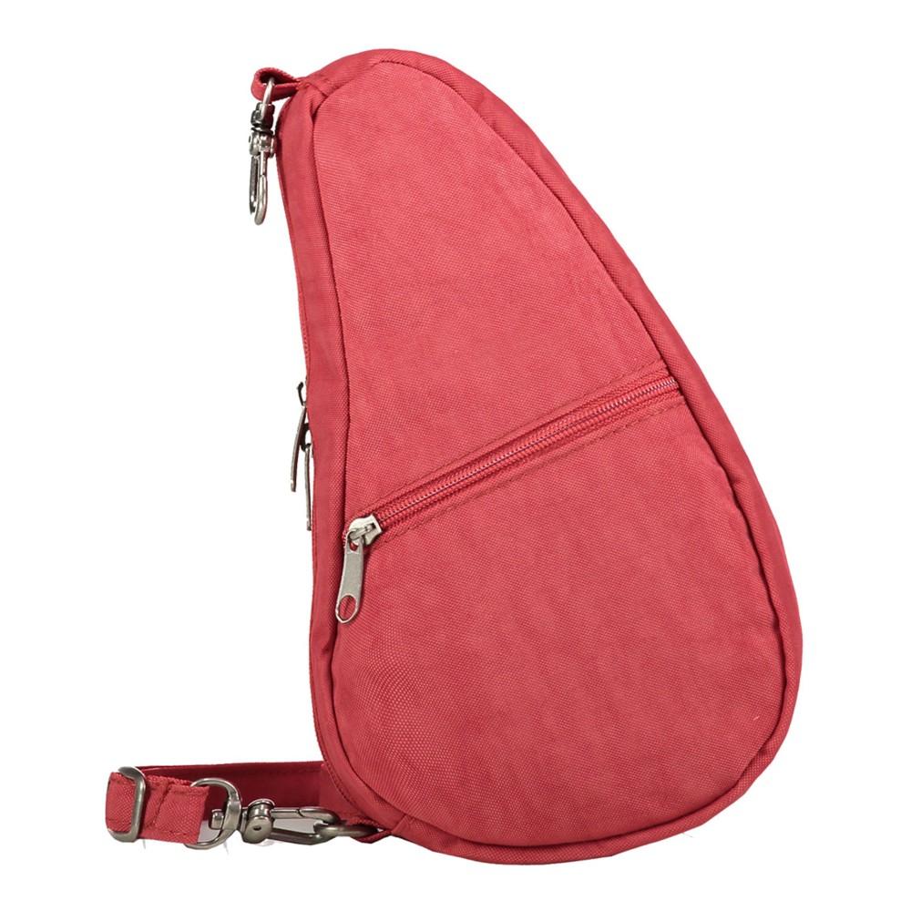 Healthy Back Bag Textured Nylon Baglett Tuscan Red