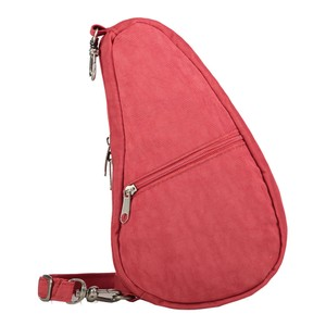 Healthy Back Bag Textured Nylon Baglett in Tuscan Red