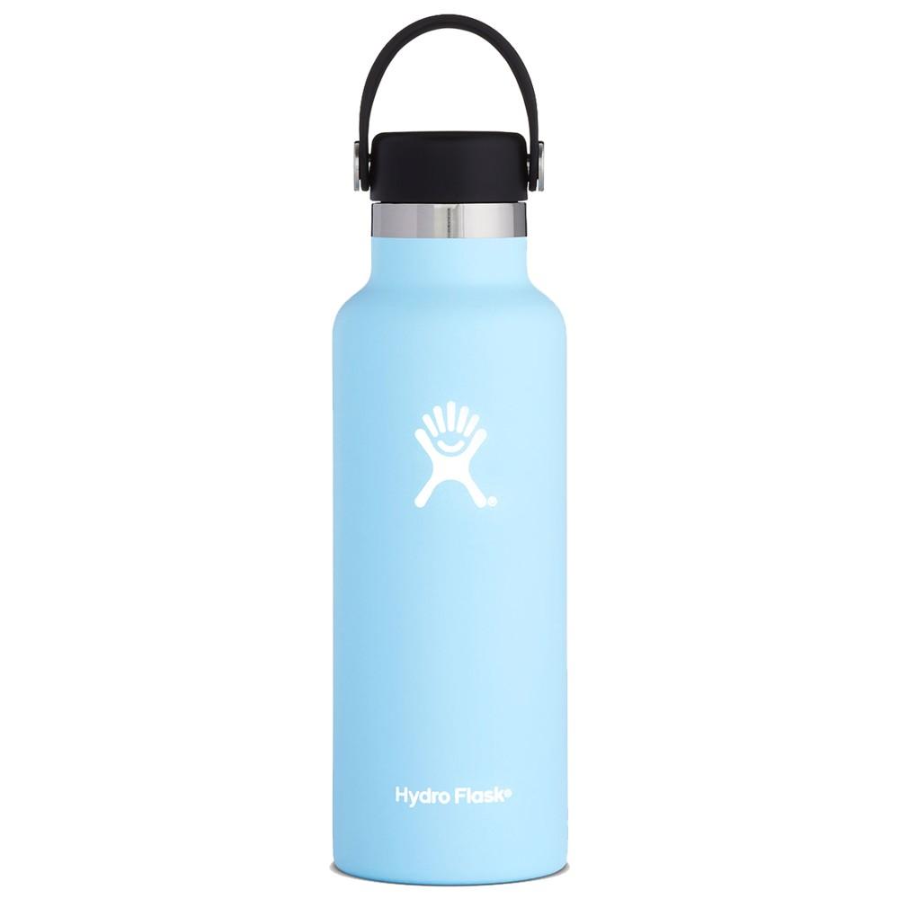 Hydro Flask 18oz Standard w/std Flex Cap Frost