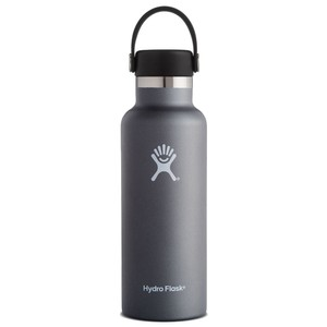 Hydro Flask 18oz Standard w/std Flex Cap in Graphite