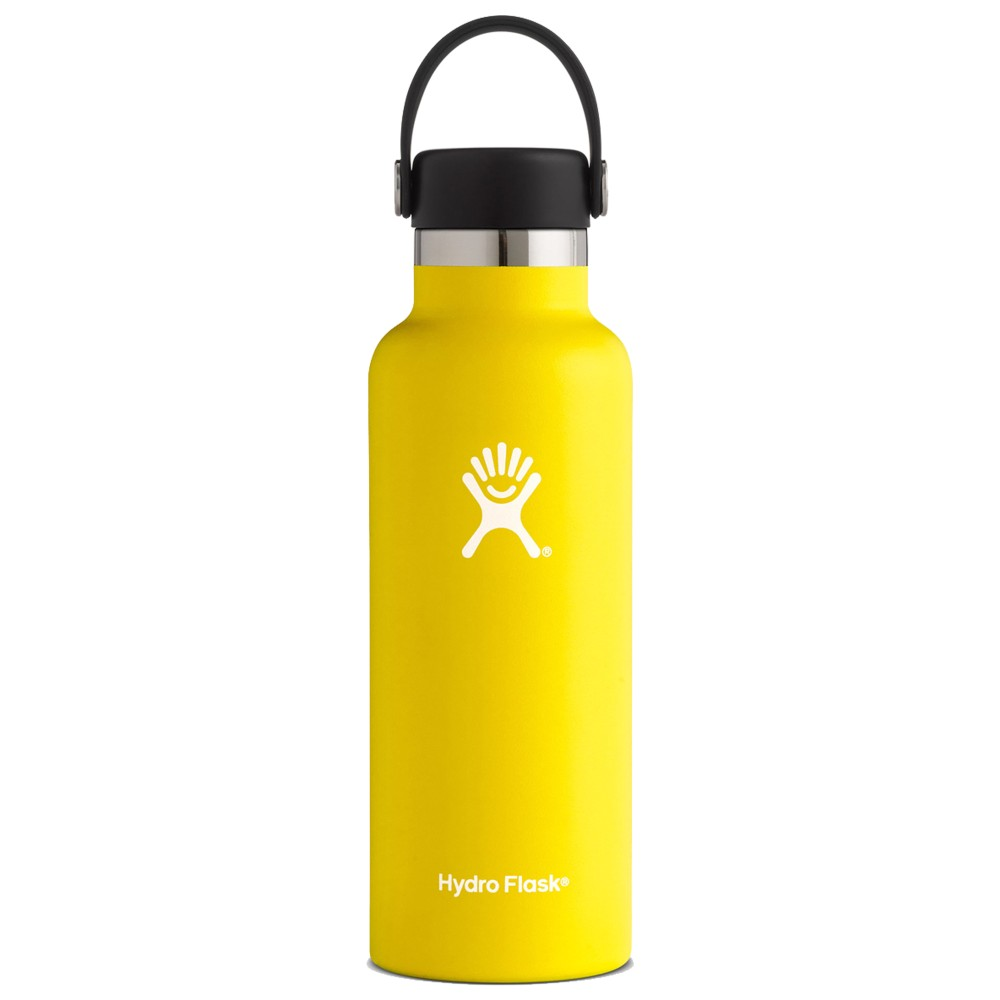 Hydro Flask 18oz Standard w/std Flex Cap Lemon