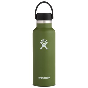 Hydro Flask 18oz Standard w/std Flex Cap in Olive