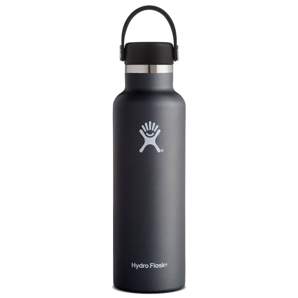 Hydro Flask 21oz Standard w/std Flex Cap Black