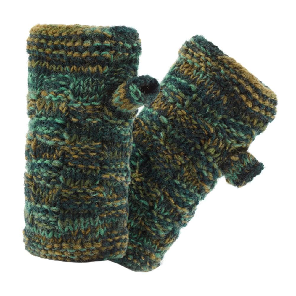 Sherpa Basket Rimjhim Handwarmers Rathna green
