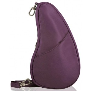 Healthy Back Bag Microfibre Large Baglett in Black Plum