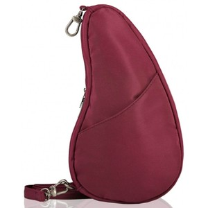 Healthy Back Bag Microfibre Large Baglett in Garnet