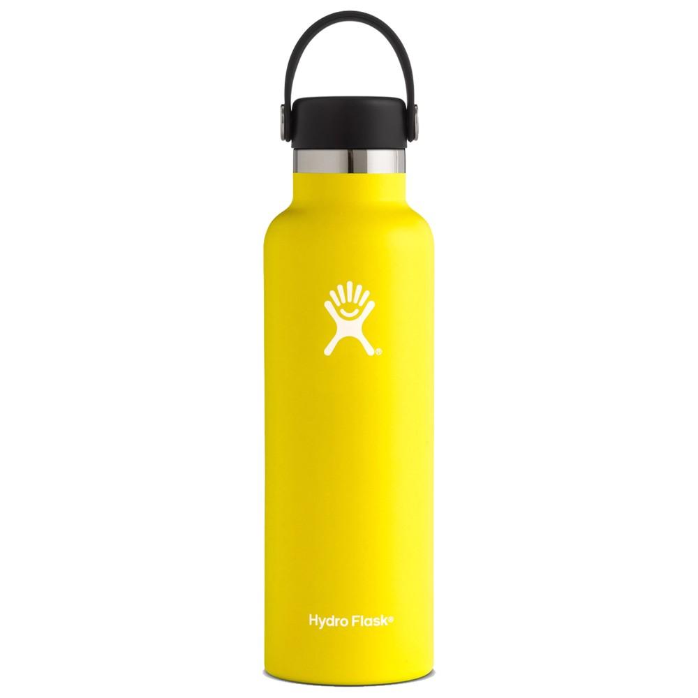 Hydro Flask 21oz Standard w/std Flex Cap Lemon