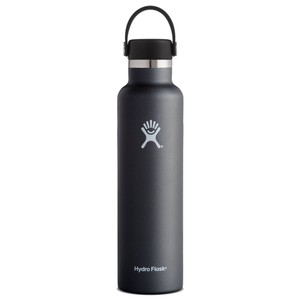 Hydro Flask 24oz Standard Mouth in Black