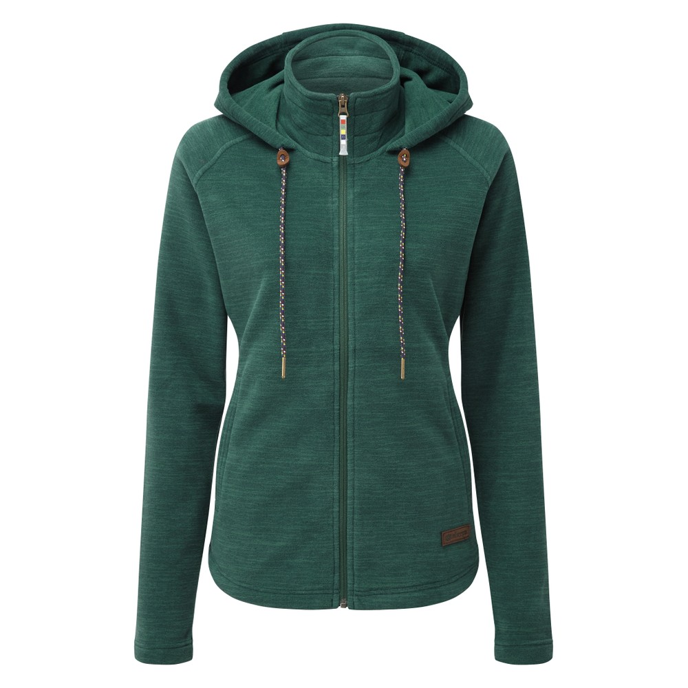Sherpa Sonam Hooded Jacket Womens Rathna green