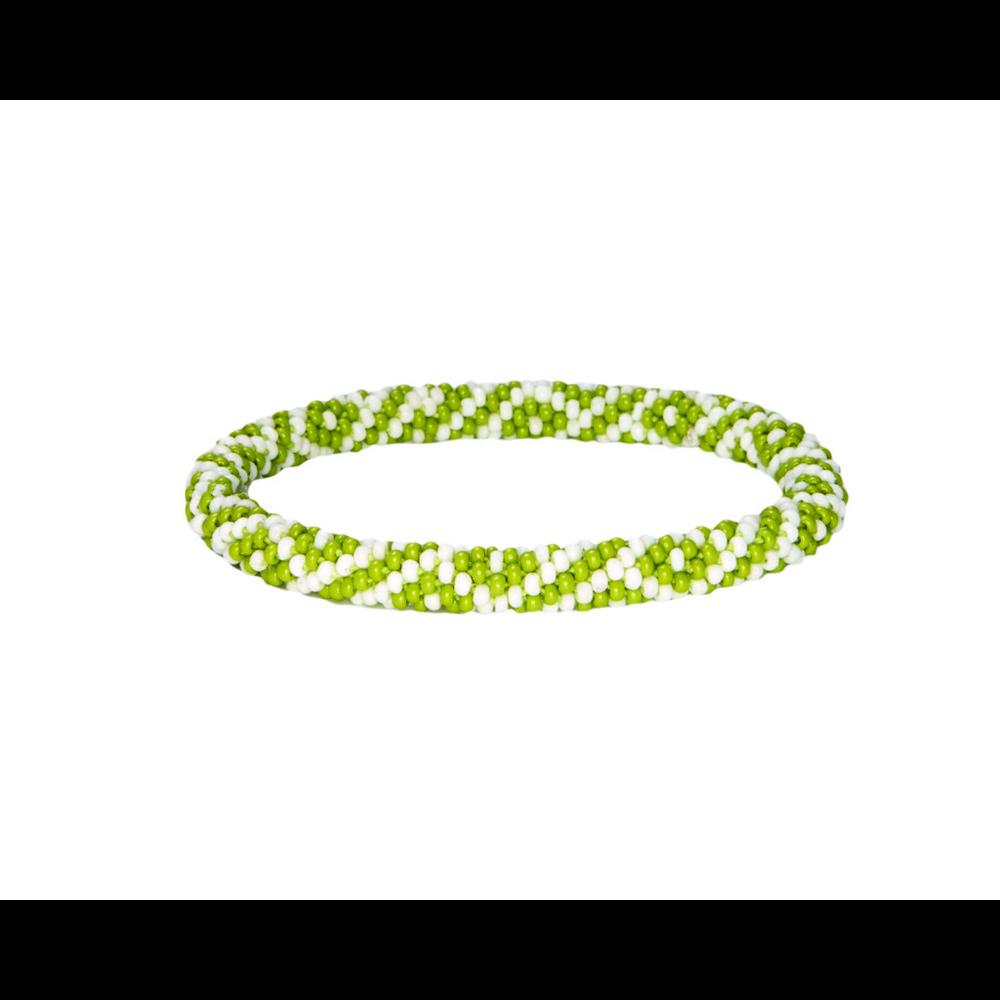 Sherpa Mayalu Two Color Roll On Bracelet Gokarna Green