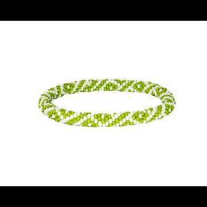 Sherpa Mayalu Two Color Roll On Bracelet in Gokarna Green