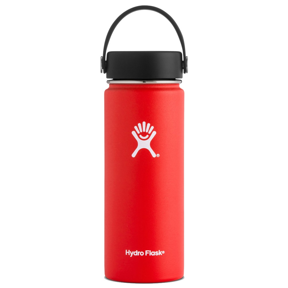 Hydro Flask 18oz Wide Mouth w/Flex Cap Lava