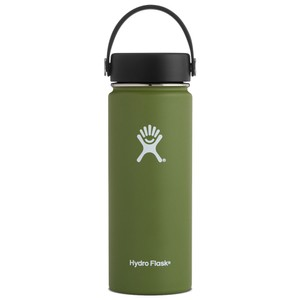 Hydro Flask 18oz Wide Mouth w/Flex Cap in Olive