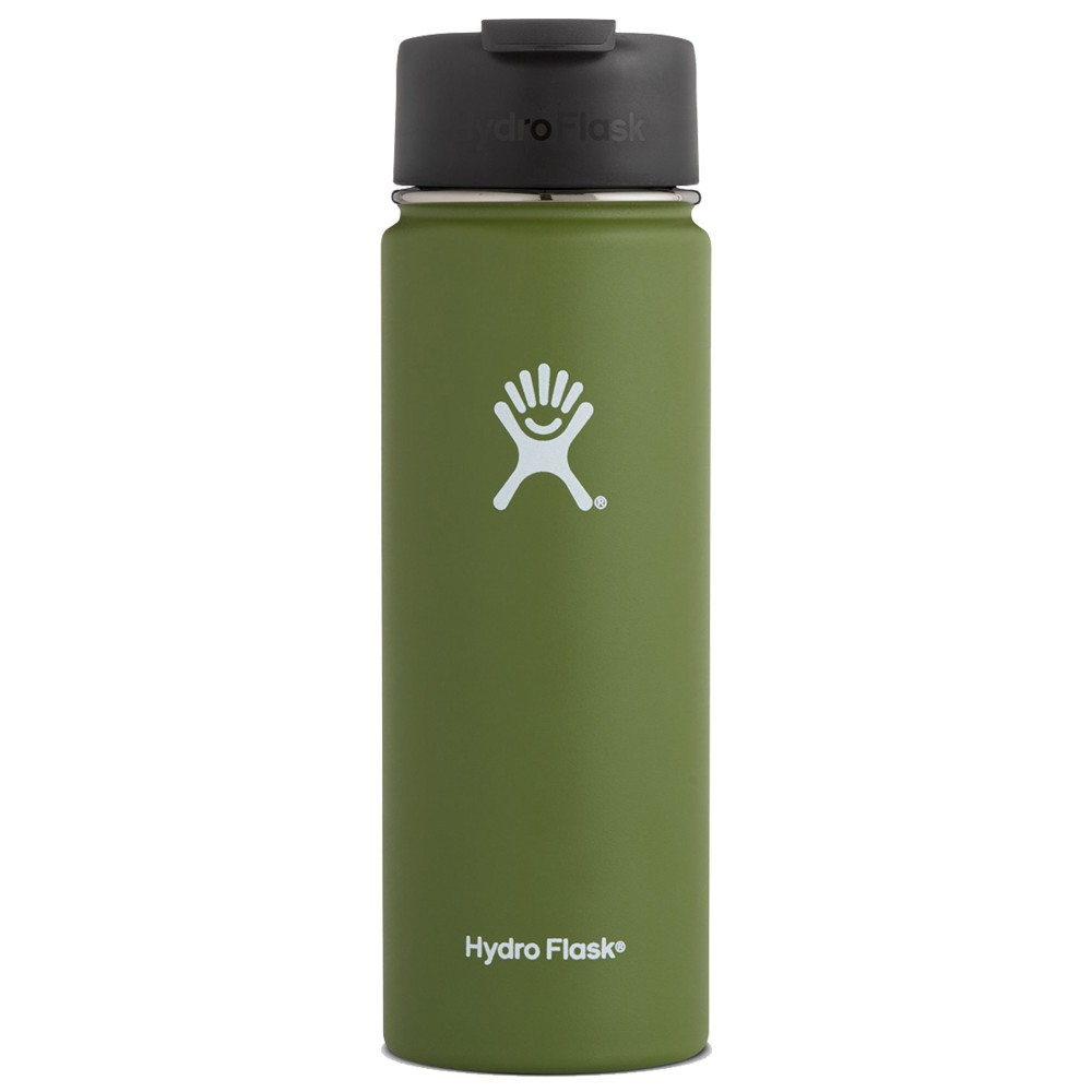 Hydro Flask 20oz Wide Mouth Olive