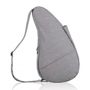 Healthy Back Bag Textured Nylon Med/IPad in Pebble Grey