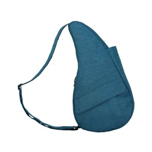 Healthy Back Bag Textured Nylon Med/IPad in Turkish Blue