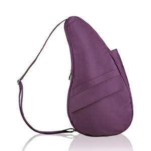 Healthy Back Bag Microfibre Small in Black Plum