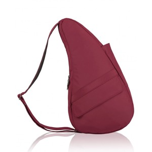 Healthy Back Bag Microfibre Small in Garnet
