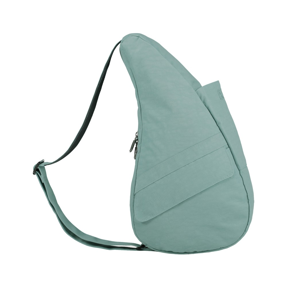 Healthy Back Bag Textured Nylon Small Aqua