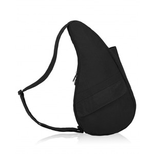 Healthy Back Bag Textured Nylon Small in Black