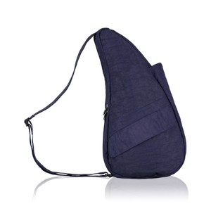 Healthy Back Bag Textured Nylon Small in Blue Night