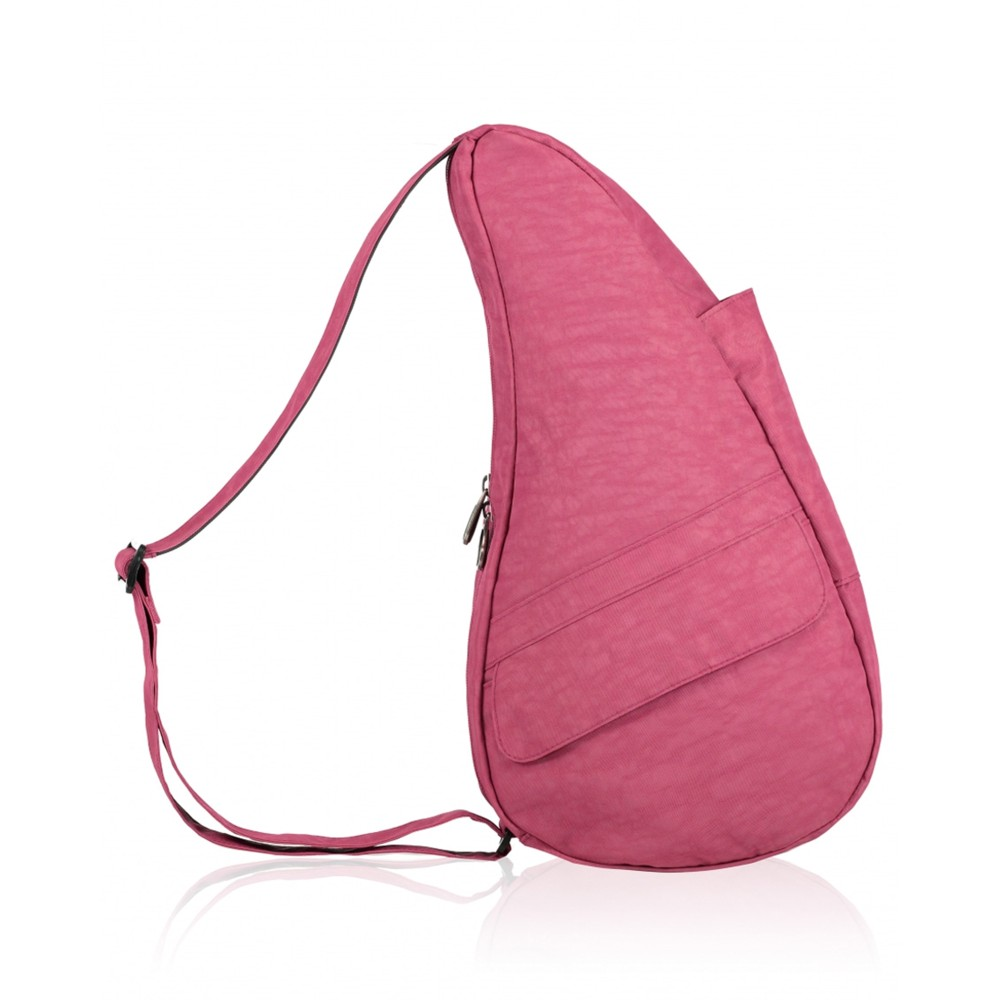 Healthy Back Bag Textured Nylon Small Cranberry