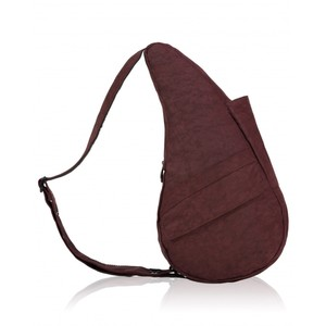 Healthy Back Bag Textured Nylon Small in Dark Chocolate