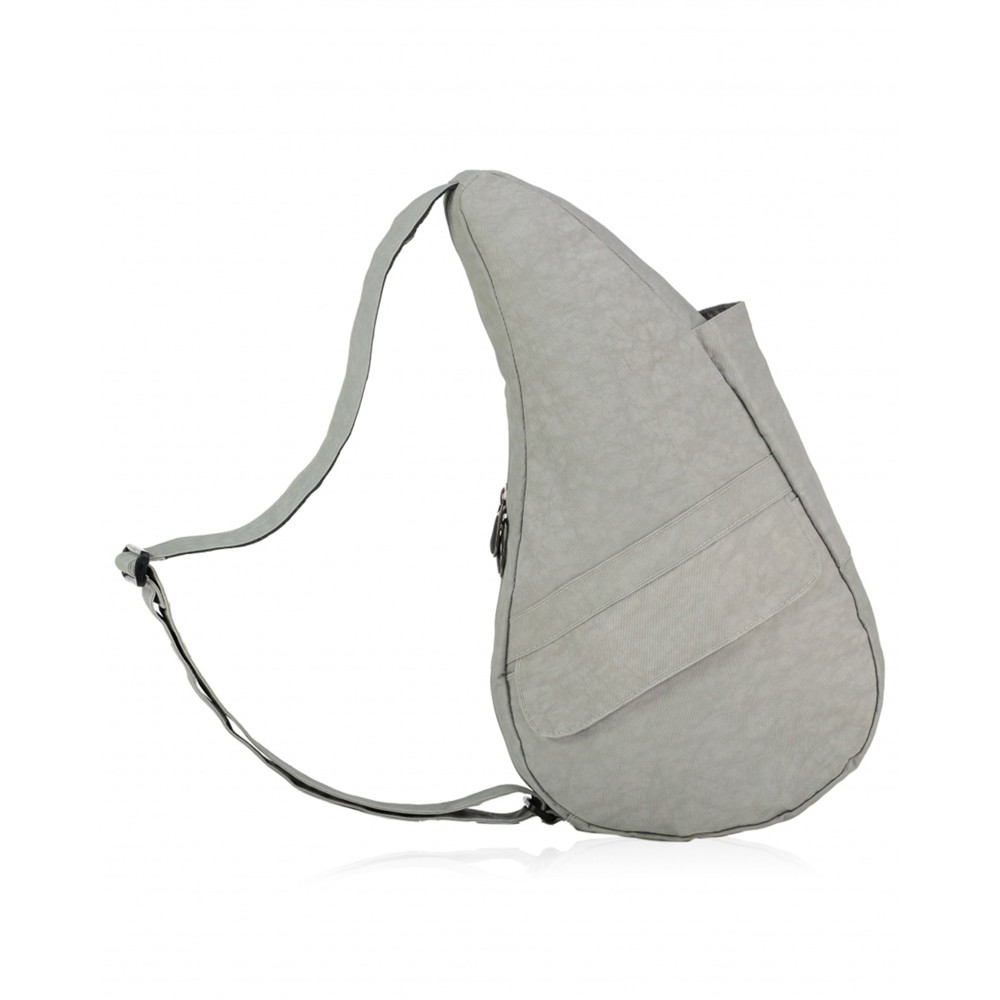 Healthy Back Bag Textured Nylon Small Frost Grey