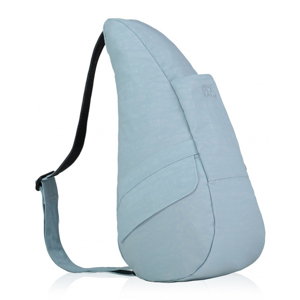 Healthy Back Bag Textured Nylon Small Glacier Blue