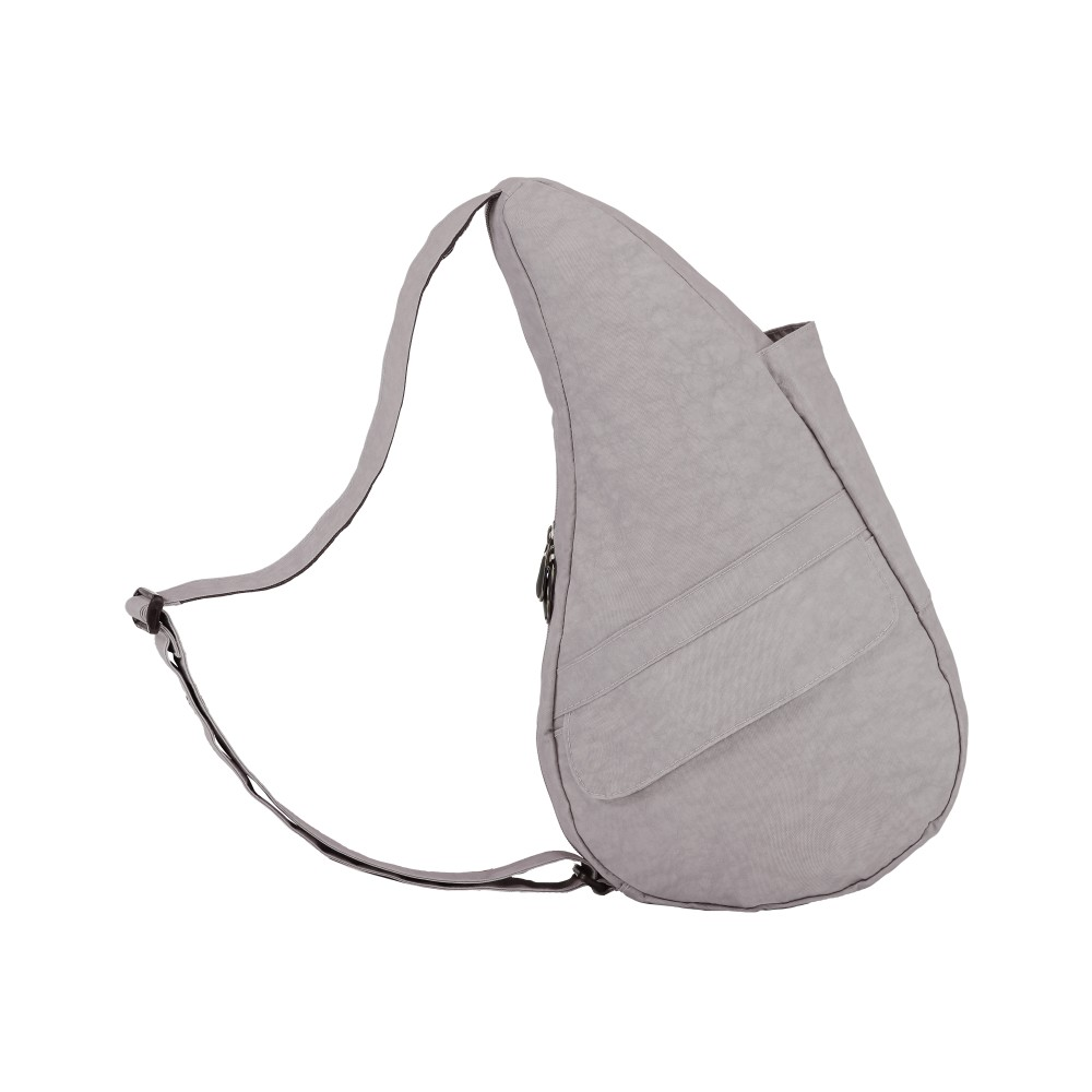Healthy Back Bag Textured Nylon Small Grey Fox