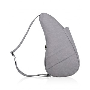 Healthy Back Bag Textured Nylon Small in Pebble Grey