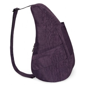 Healthy Back Bag Textured Nylon Small in Plum