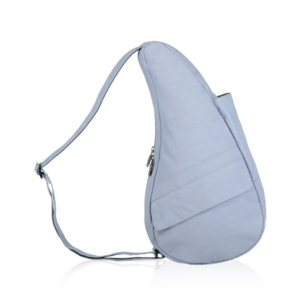 Healthy Back Bag Textured Nylon Small Stonewash