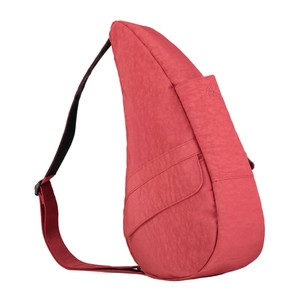 Healthy Back Bag Textured Nylon Small in Tuscan Red