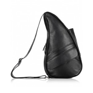 Healthy Back Bag Classic Leather Medium in Black