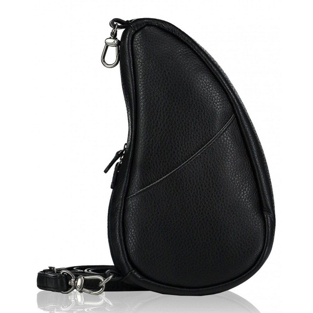 Healthy Back Bag Leather Large Baglett Black